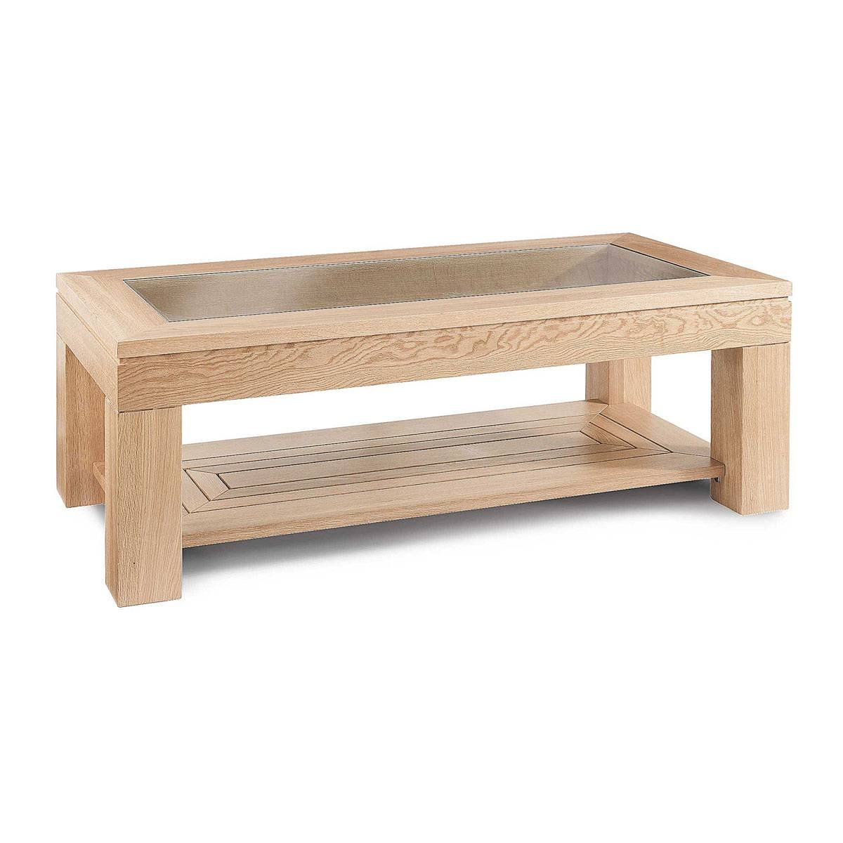 Fascinating Oak Coffee Table With Glass Top About Designing Home with Oak Coffee Table With Glass Top (Image 8 of 15)
