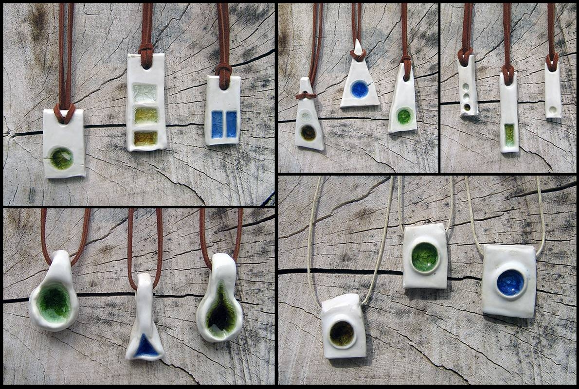 Featured Photo of Recycled Glass Pendants