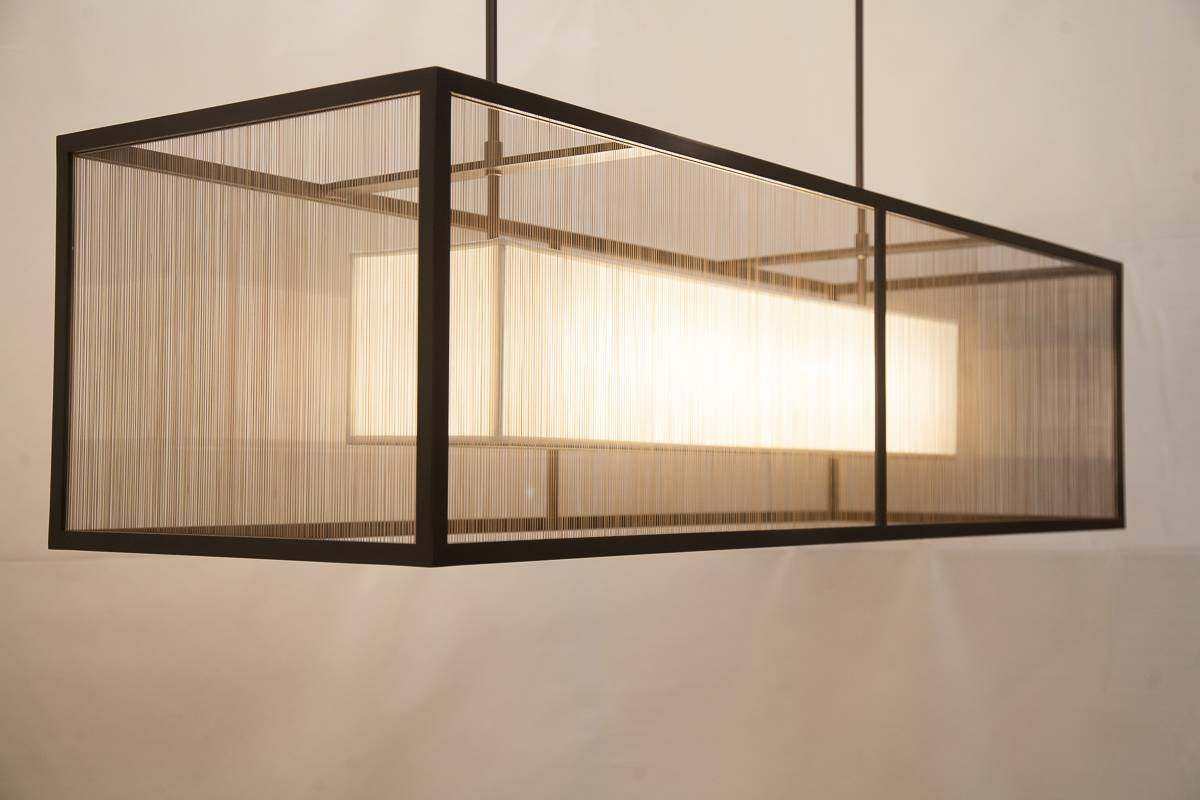 February 2015 In The Shop | Crenshaw Lighting for Rectangular Drum Pendant Lights (Image 10 of 15)
