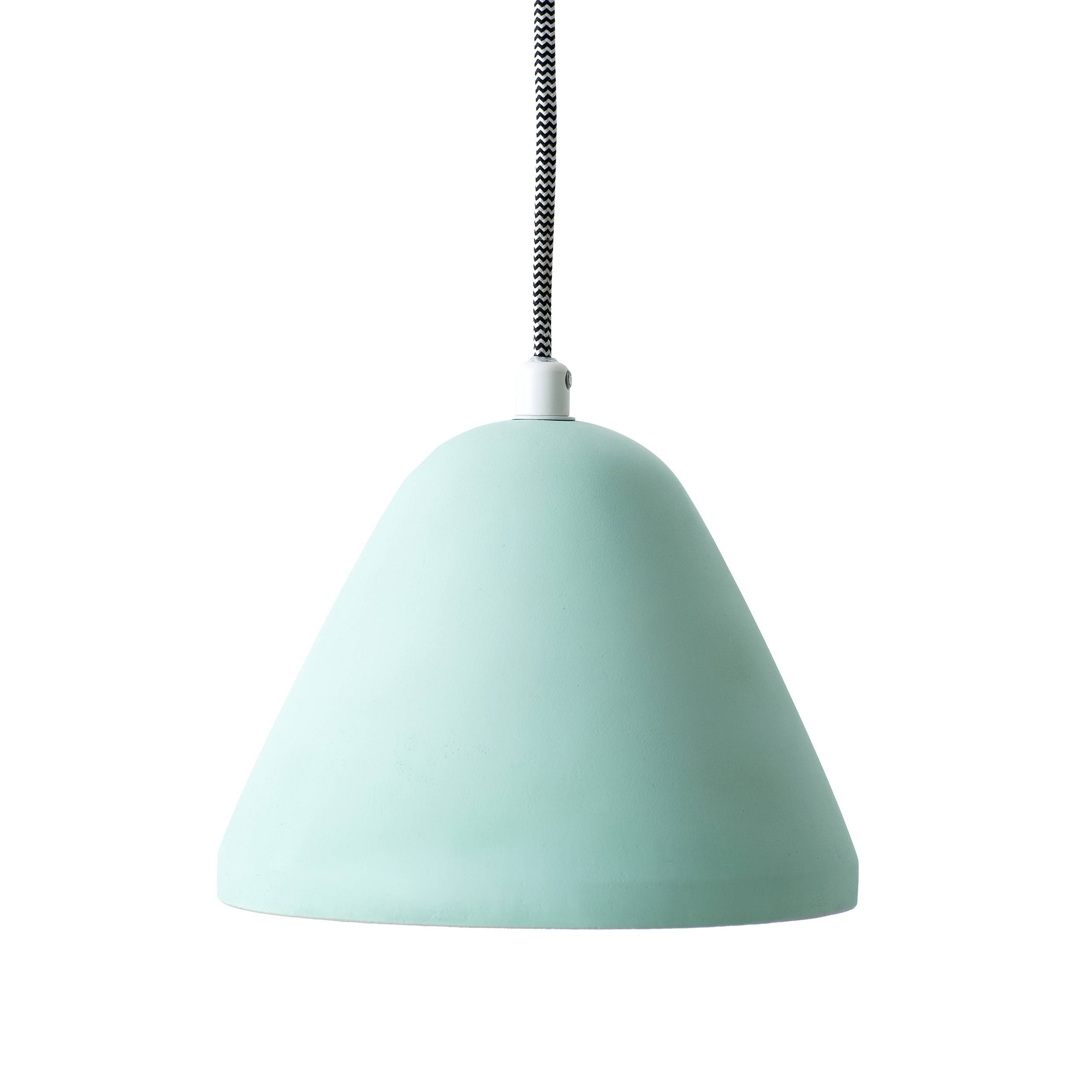 Finn Concrete Mint - Pendant | Loungelovers in Aqua Pendant Lights (Image 7 of 15)