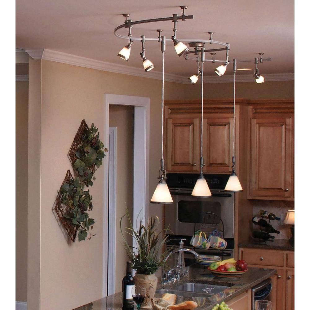 Featured Photo Of Flexible Track Lighting With Pendants