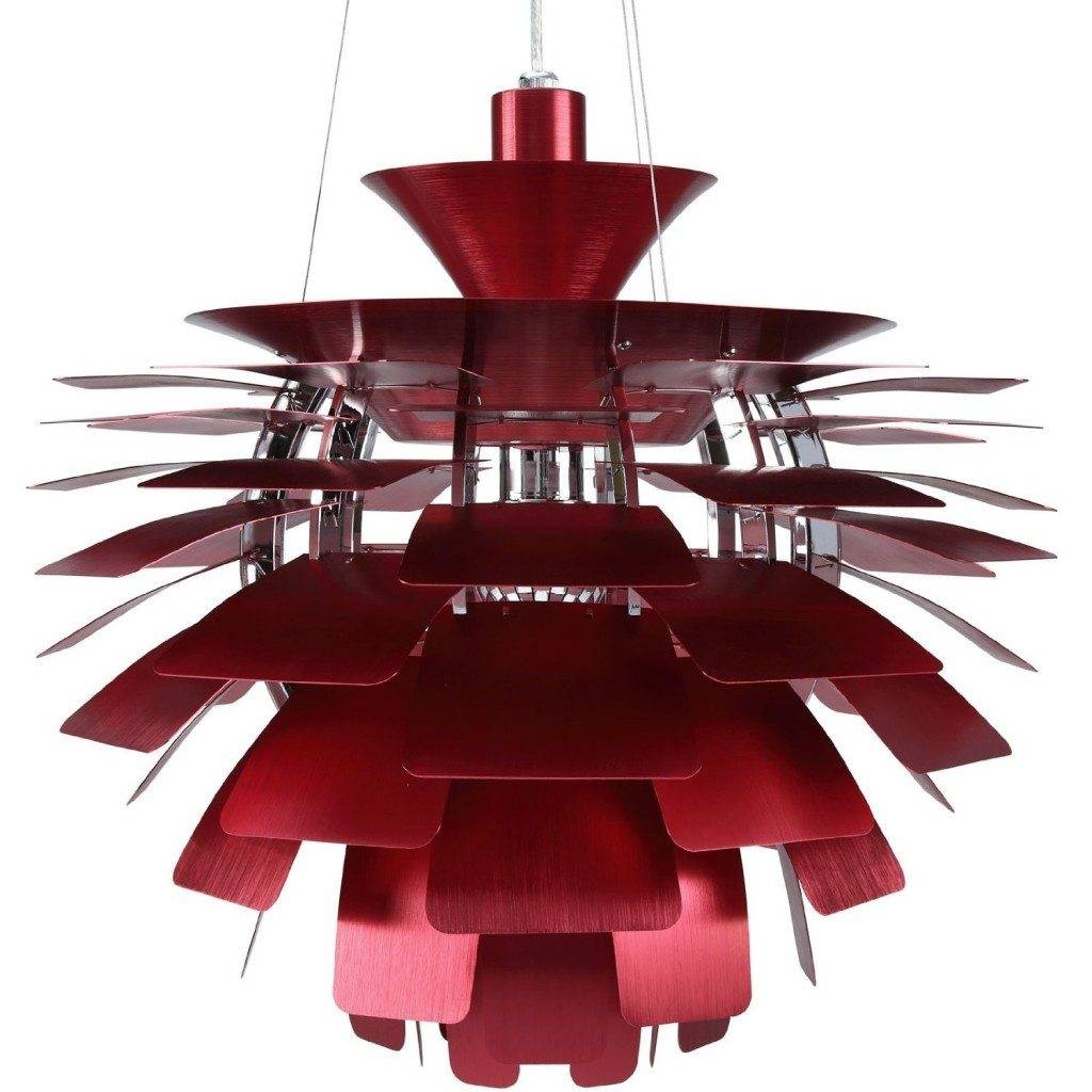 Flower Chandeliers & Pendant Lighting | Chandelier Top Within Modern Red Pendant Lighting (View 15 of 15)