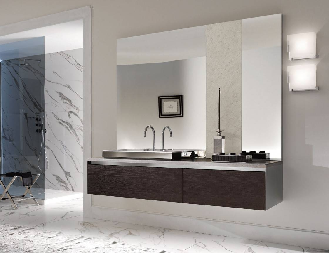 Featured Photo of Large Frameless Bathroom Mirrors