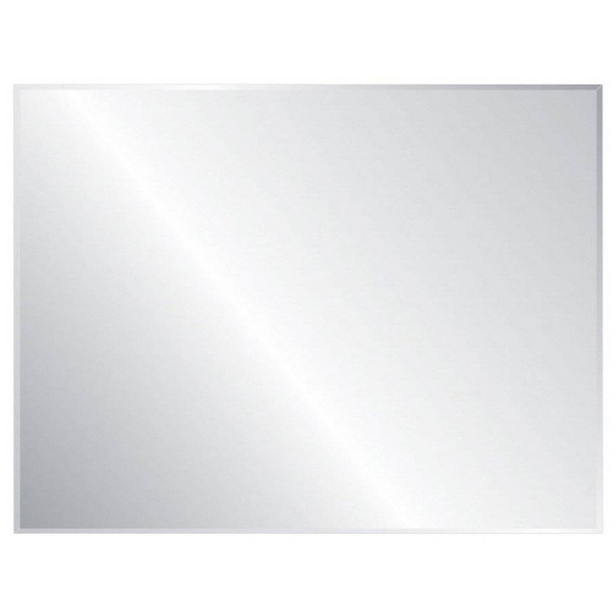 Frameless Wall Mirrors | Lowe's Canada in Long Frameless Mirrors (Image 3 of 15)