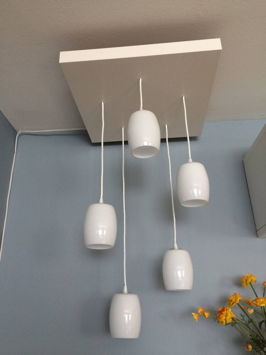 Franken-Fixture For Tiered Pendant Lighting - Ikea Hackers - Ikea in Ikea Plug in Pendant Lights (Image 9 of 15)