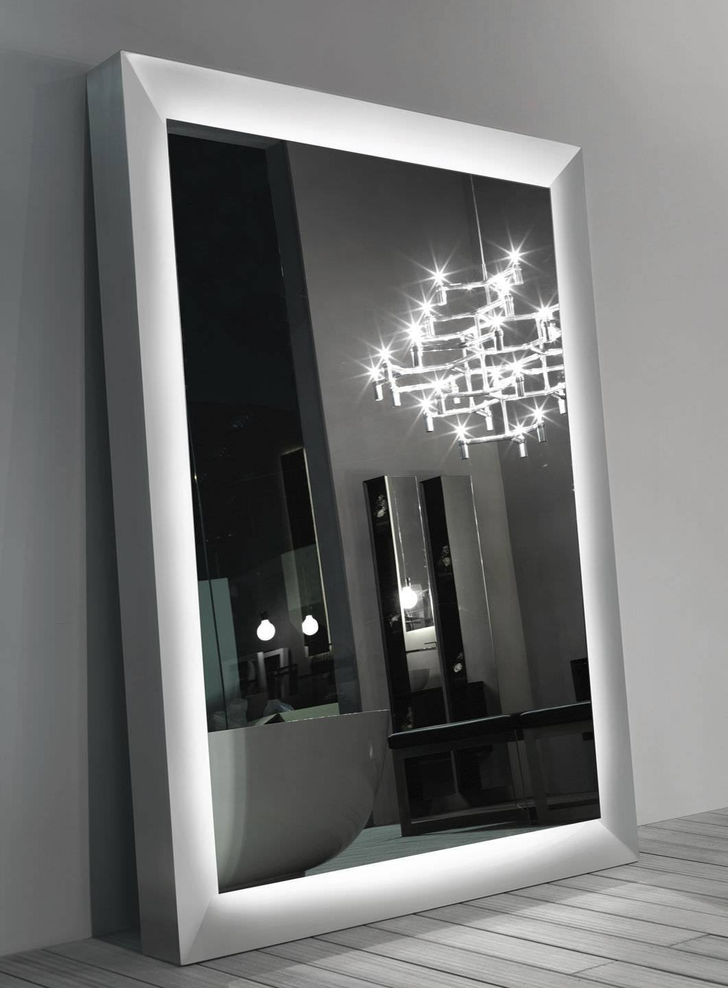 Free-Standing Mirror / Contemporary / Square - Big One - Ri.fra Mobili for Big Standing Mirrors (Image 9 of 15)