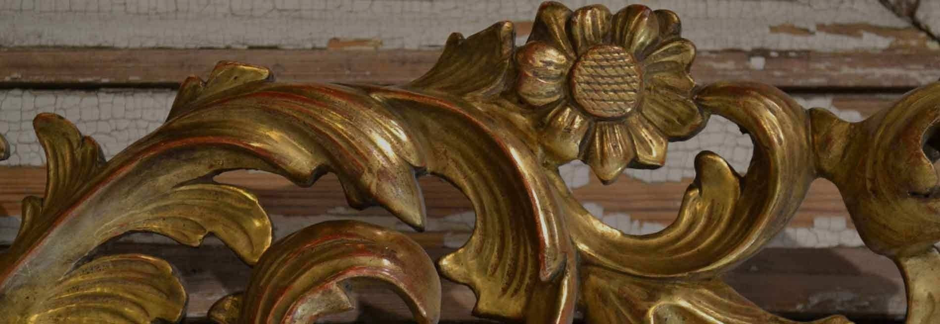French Antique Mirrors: Gilding Workshop throughout Gold French Mirrors (Image 12 of 15)