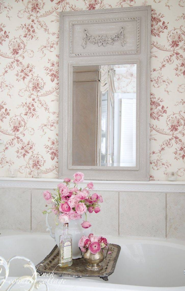 French Country Bathroom Mirrors | Home throughout French Bathroom Mirrors (Image 11 of 15)