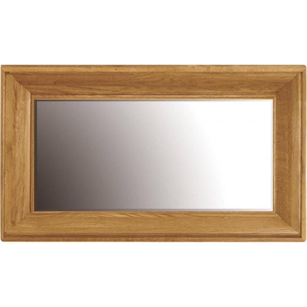 French Oak Overmantle Mirror intended for Wooden Overmantle Mirrors (Image 10 of 15)