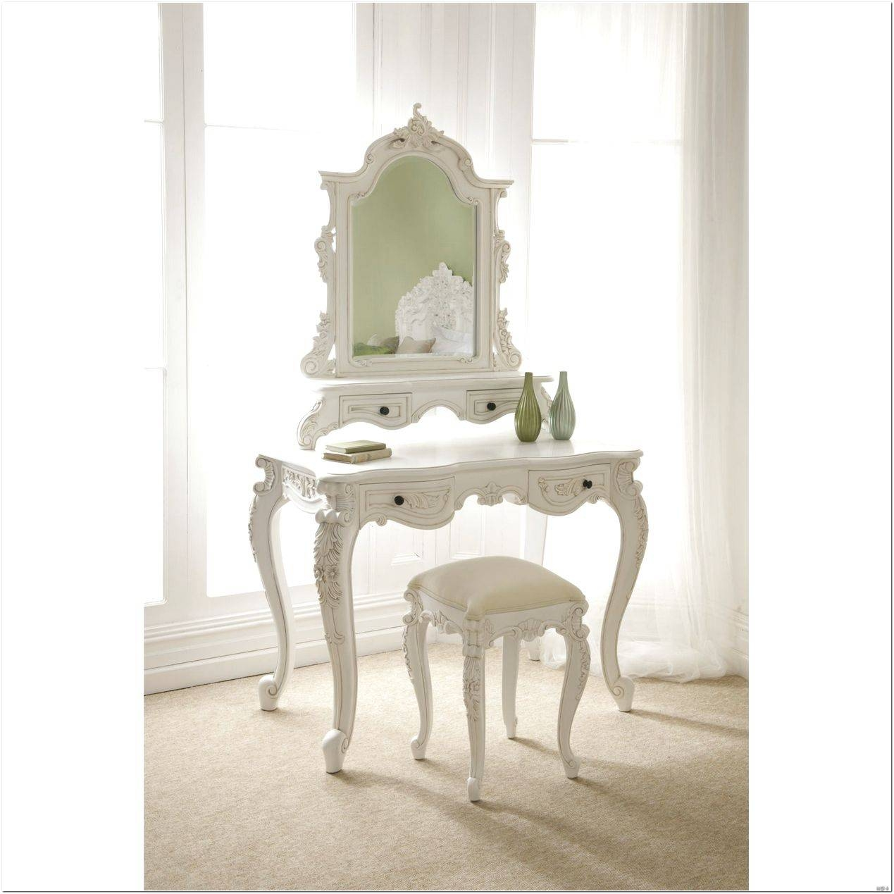 French Style Dressing Table Mirror Design Ideas - Interior Design with Cheap French Style Mirrors (Image 9 of 15)