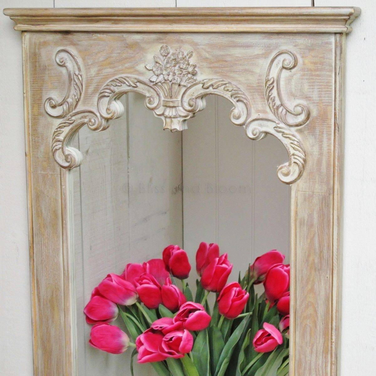French Style Long Wall Mirror | Bliss And Bloom Ltd Intended For French Style Wall Mirrors (View 5 of 15)
