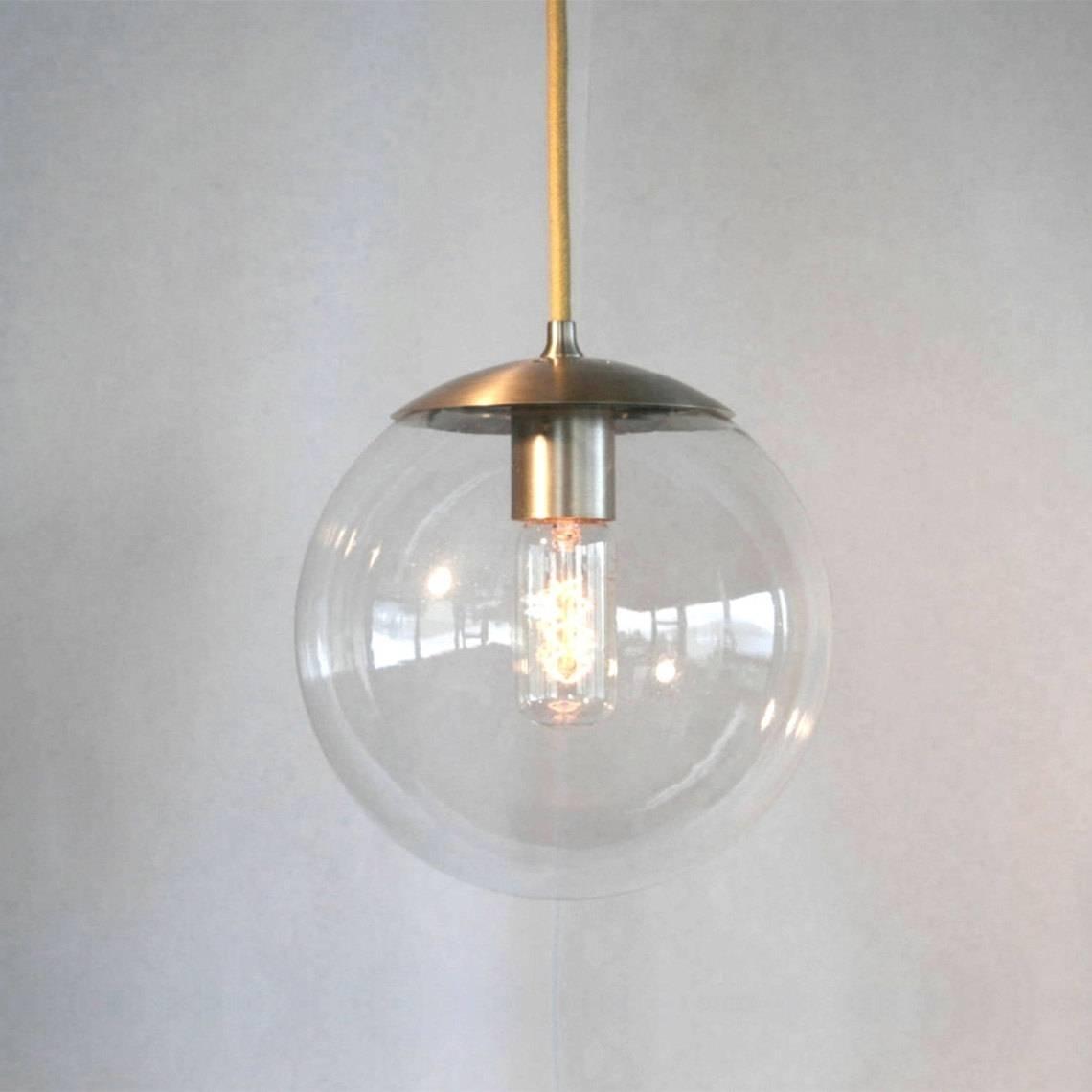 Fresh Clear Glass Globe Pendant Light 25 For Elk Lighting Pendant regarding Clear Glass Ball Pendant Lights (Image 9 of 15)