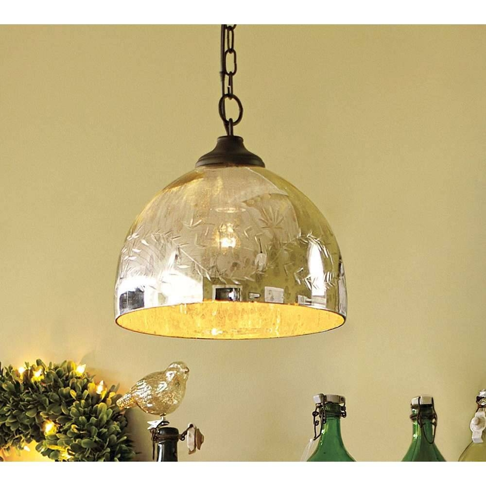 Fresh Mercury Glass Pendant Light Fixtures 61 About Remodel Gold within Mercury Glass Ceiling Lights (Image 6 of 15)