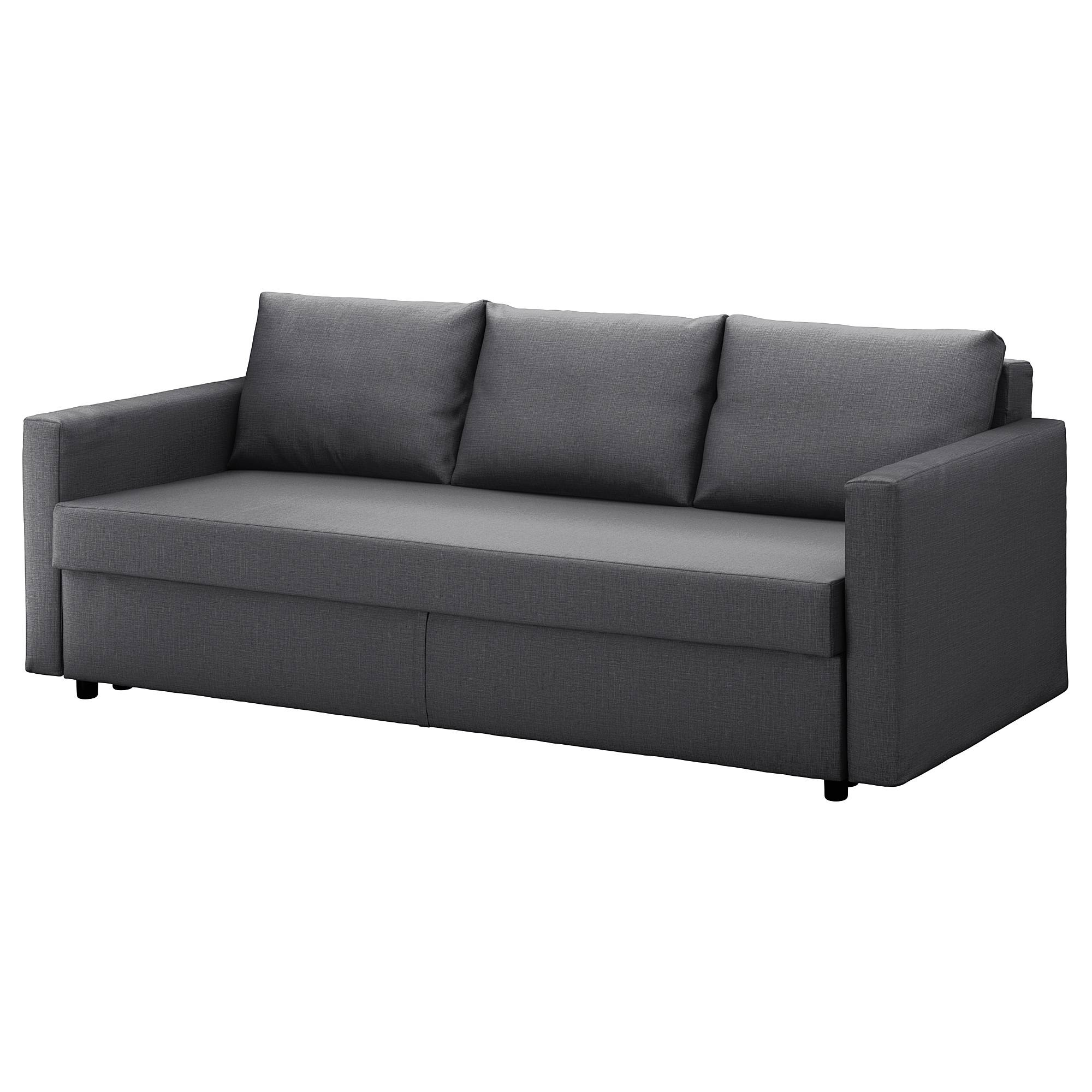 Friheten Sofa Bed – Skiftebo Dark Gray – Ikea Throughout Sofa Beds (View 6 of 15)