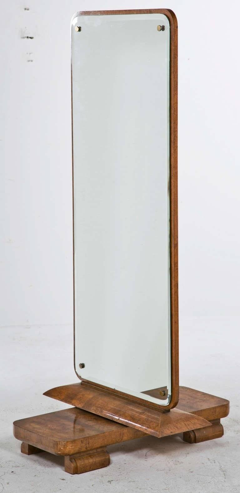 Full Length Art Deco Dressing Mirror European Circa 1930 At 1Stdibs with Art Deco Full Length Mirrors (Image 10 of 15)