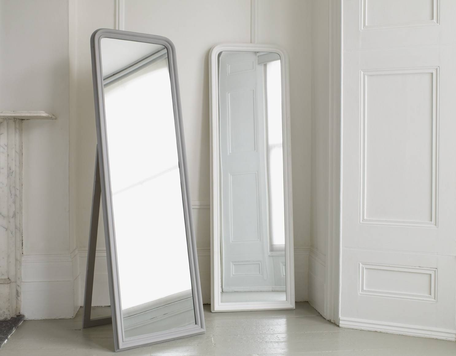 Full Length Mirror Free Standing | Vanity Decoration with Free Stand Mirrors (Image 5 of 15)