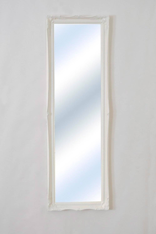 Full Length White Shabby Chic Mirror - 124.5 X 41Cm - The Shabby throughout White Shabby Chic Mirrors (Image 9 of 15)