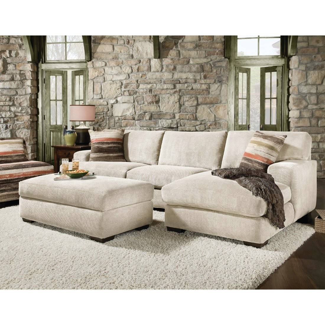 Furniture: Add Elegance And Style To Your Home With Extra Large with Chenille Sectional Sofas With Chaise (Image 7 of 15)