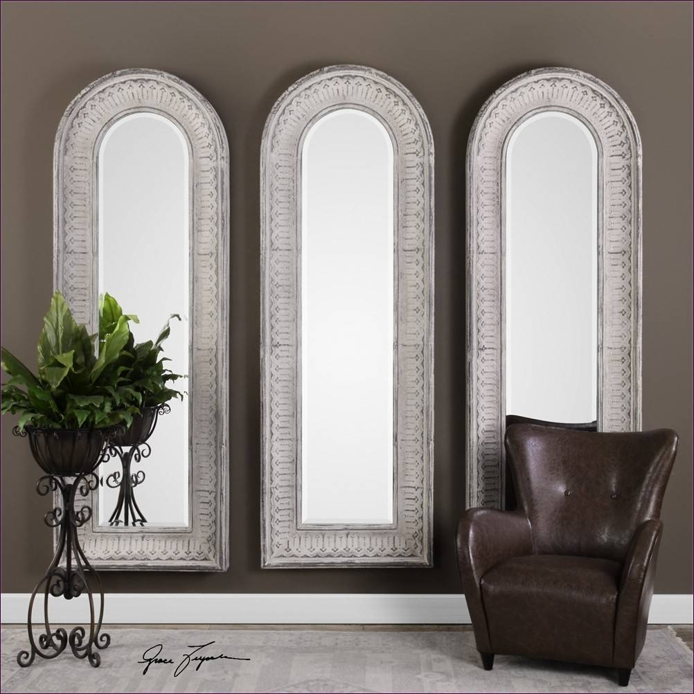 Furniture : Cheval Floor Mirror Silver Wall Mirror Tall Leaning in Arched Bathroom Mirrors (Image 10 of 15)