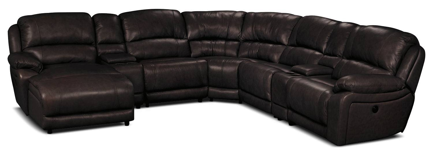 15 Best Collection of Cindy Crawford Leather Sectional Sofas