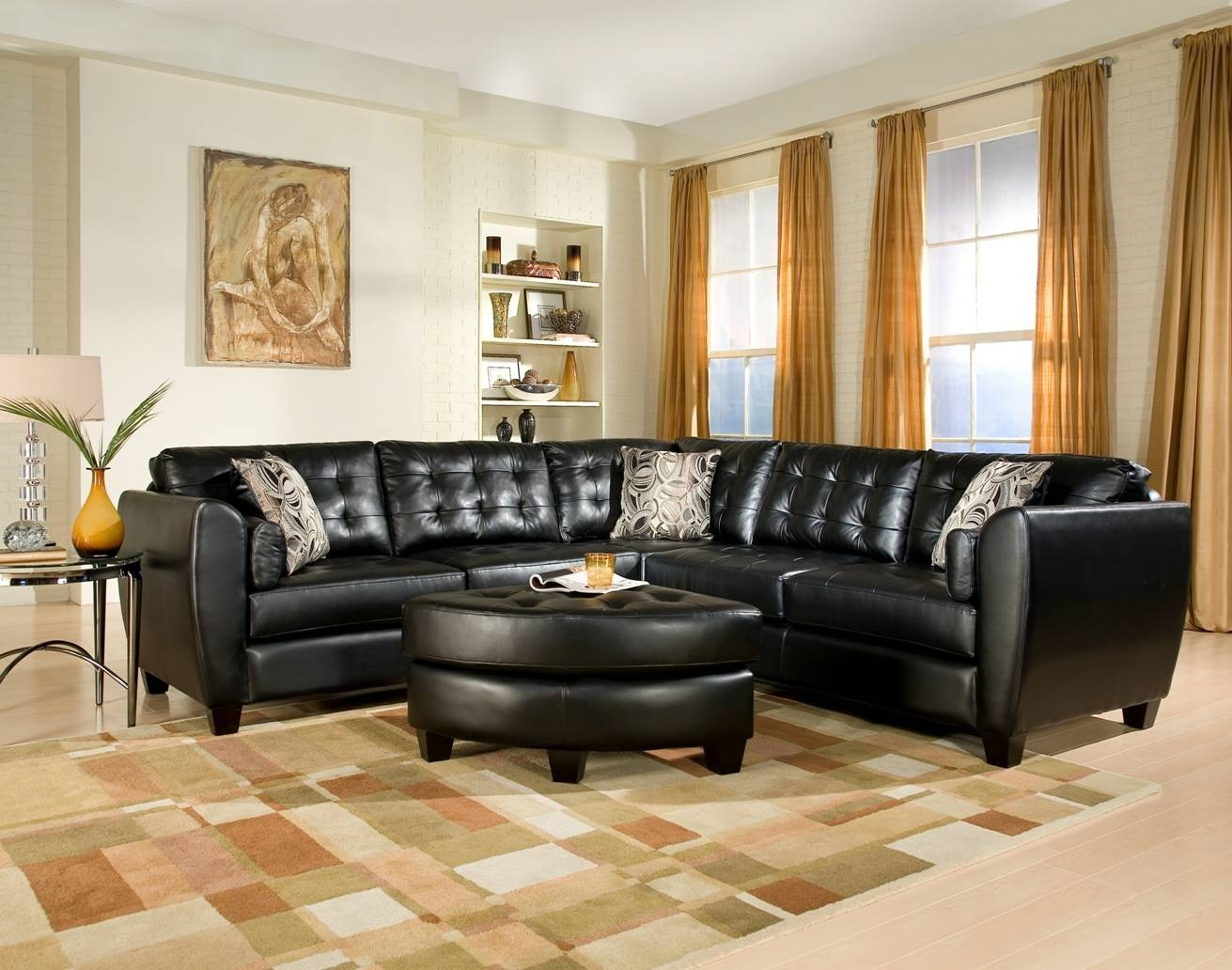 Furniture: Cindy Crawford Sectional Sofas | Cindy Crawford Leather With Metropolis Cindy Crawford Sectional Sofas (View 13 of 15)