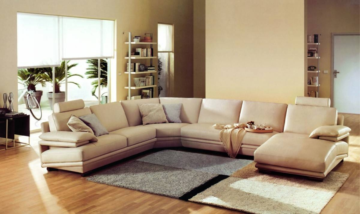 Furniture: Comfy Sectional Sofa | Huge Sectional Sofas | Extra with regard to Extra Large Leather Sectional Sofas (Image 9 of 15)
