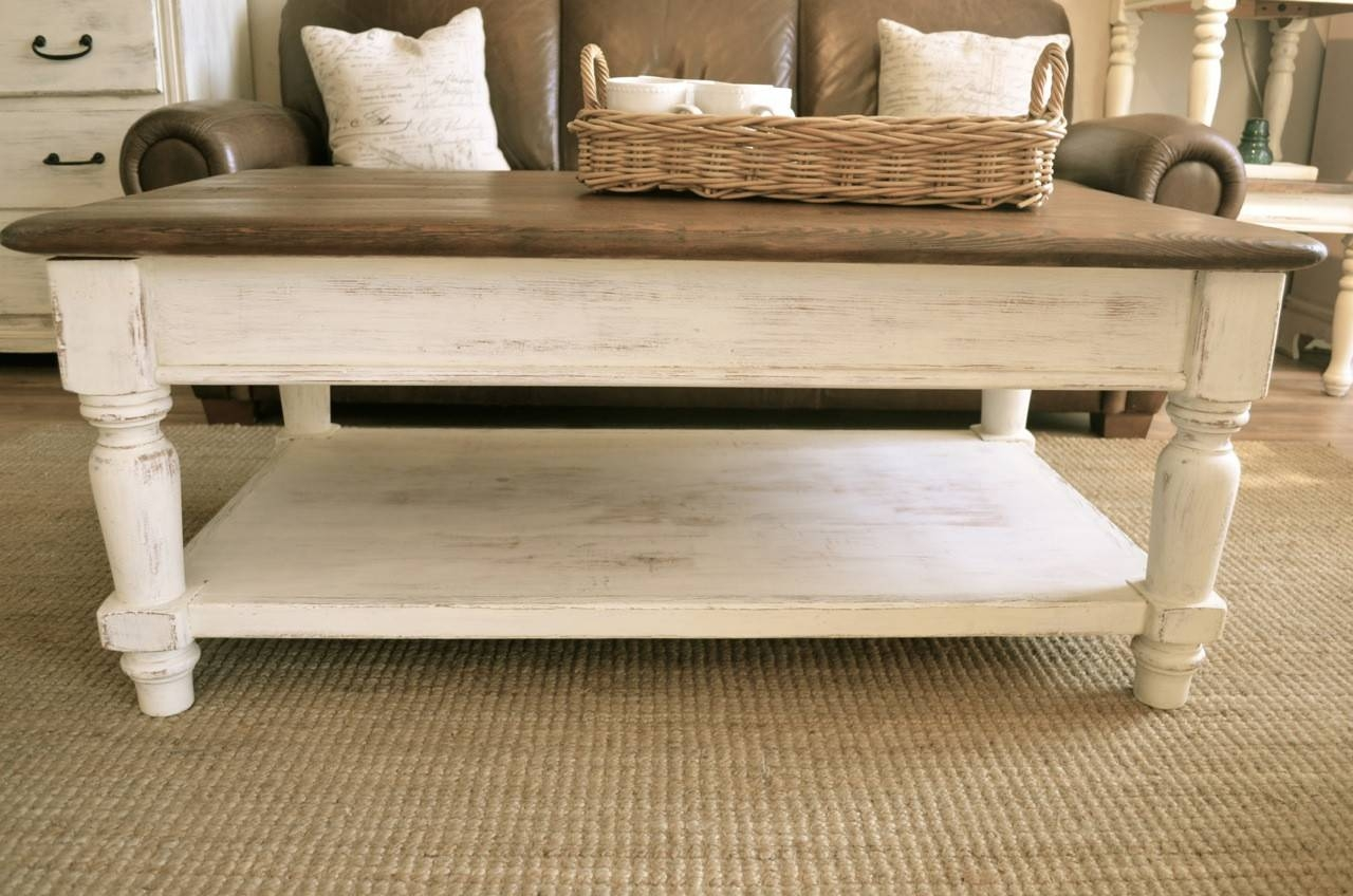 Furniture: Diy Farmhouse Coffee Table | Rustic Entryway Furniture inside Farmhouse Coffee Tables (Image 9 of 15)