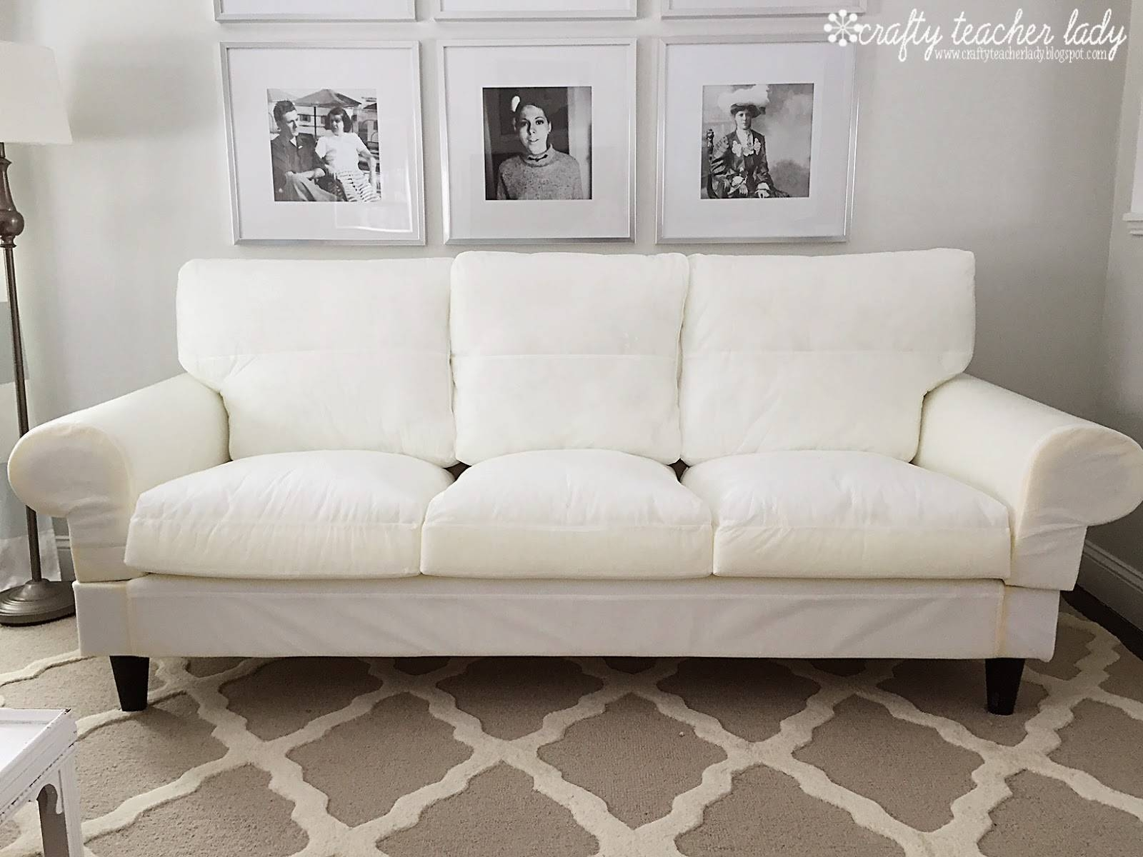 Furniture: High Quality Cotton Material For Couch Slipcovers Ikea in Loveseat Slipcovers 3 Pieces (Image 4 of 15)