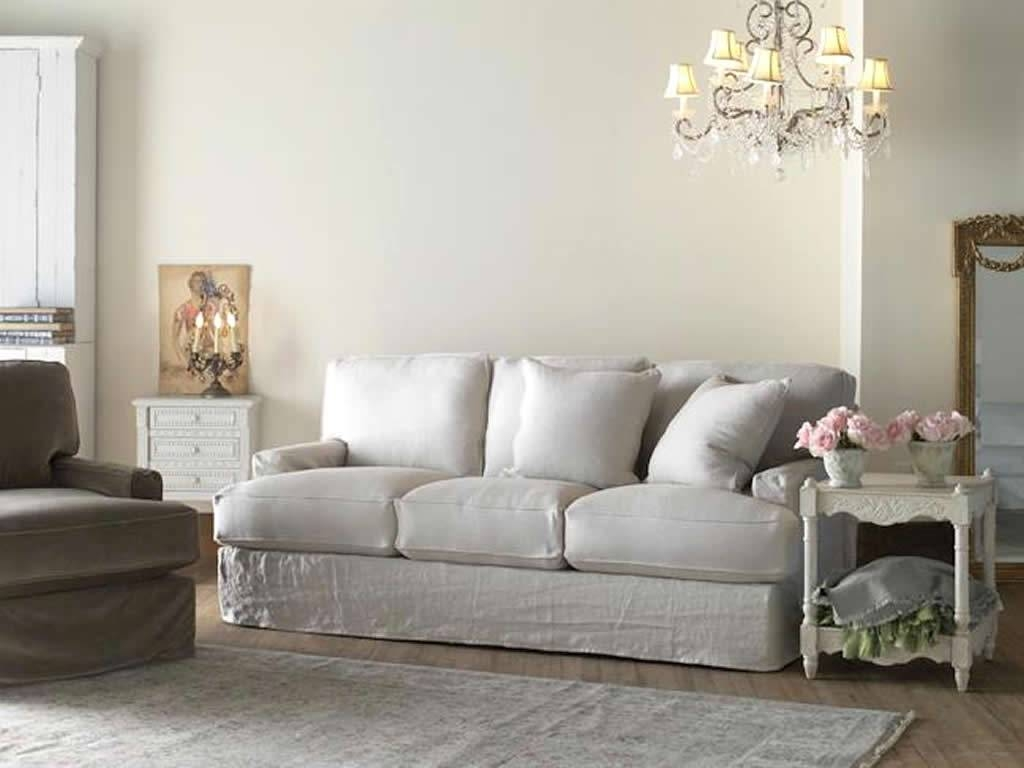 Furniture Home : Amusing Shabby Chic Sectional Sofa 16 For Your Within Shabby Chic Sectional Sofas Couches (View 5 of 15)