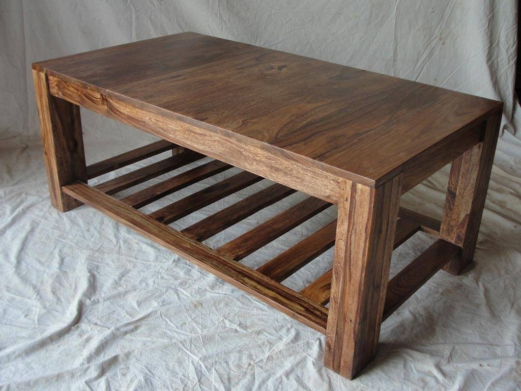 Furniture: Homemade Coffee Table | Barnwood Coffee Tables | Raw inside Wooden Coffee Tables (Image 5 of 15)