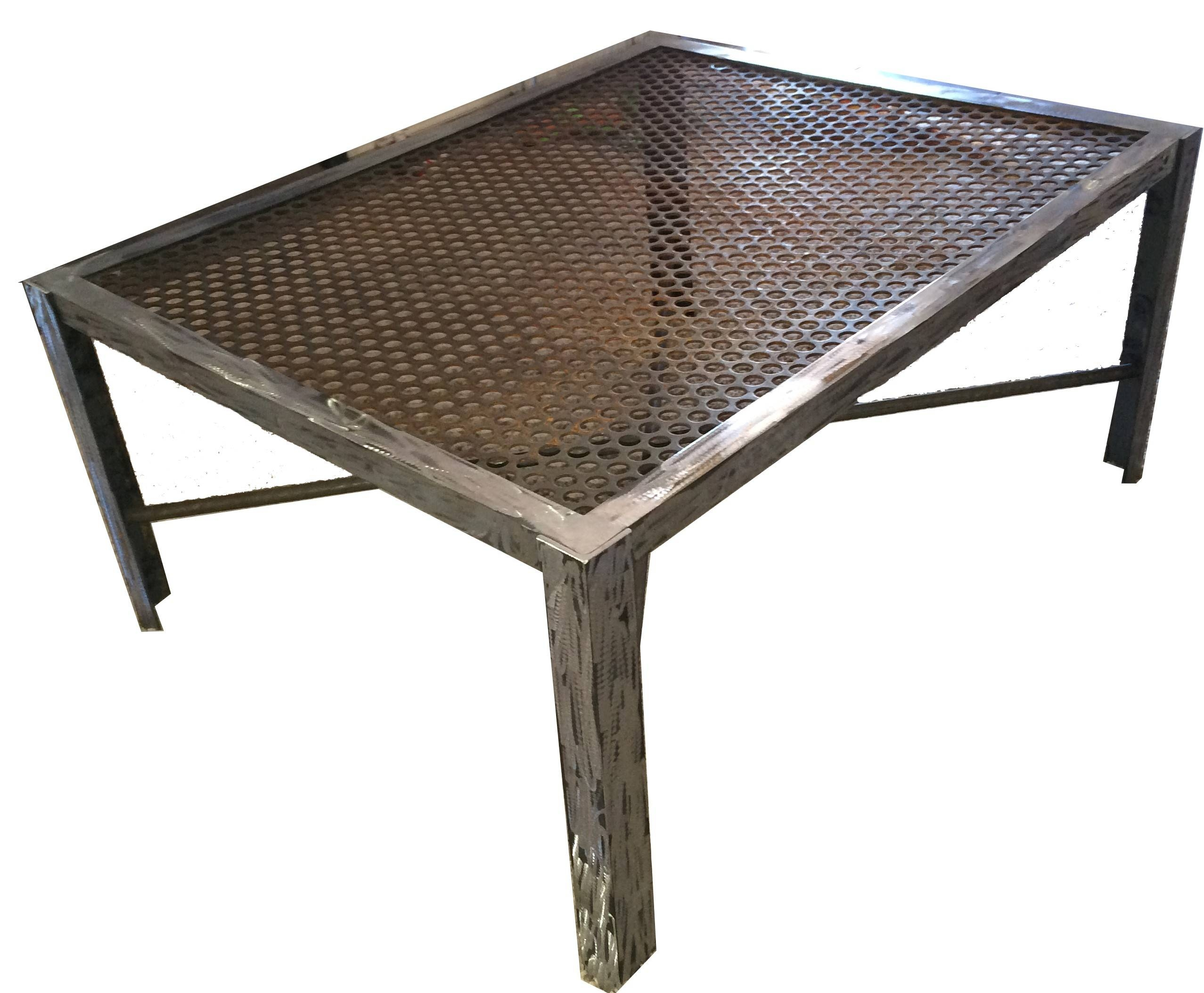 Furniture: Industrial Style Coffee Table Ideas Vintage Industrial In Industrial Style Coffee Tables (View 13 of 15)
