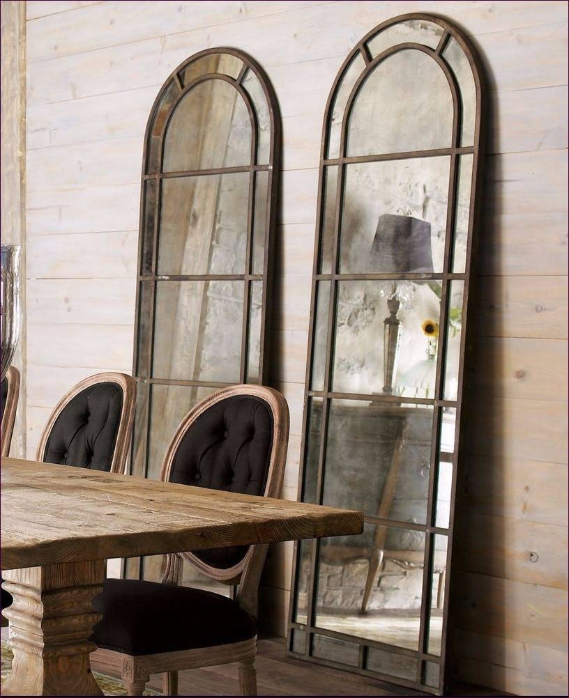 Furniture : Narrow Wall Mirror Decorative Floor Length Mirrors For Pertaining To Extra Large Black Mirrors (View 9 of 15)