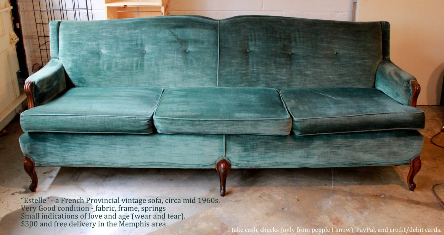 Furniture: Pintuck Sofa | Lane Leather Sofa | Velvet Couch throughout Chartreuse Sofas (Image 12 of 15)