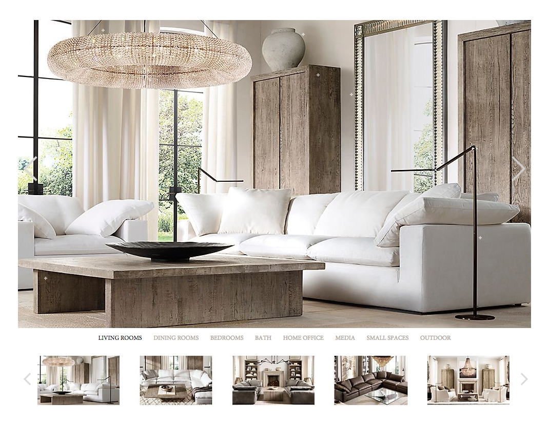 Furniture: Restoration Hardware Maxwell | Restoration Hardware throughout Brompton Leather Sectional Sofas (Image 13 of 15)
