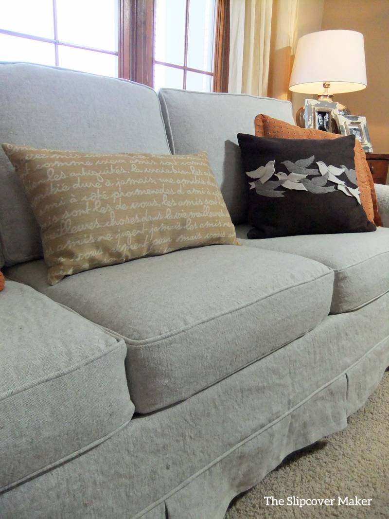 Furniture: Slipcover For Camel Back Sofa | Slip Covers For Sofas inside Slipcover Style Sofas (Image 9 of 15)