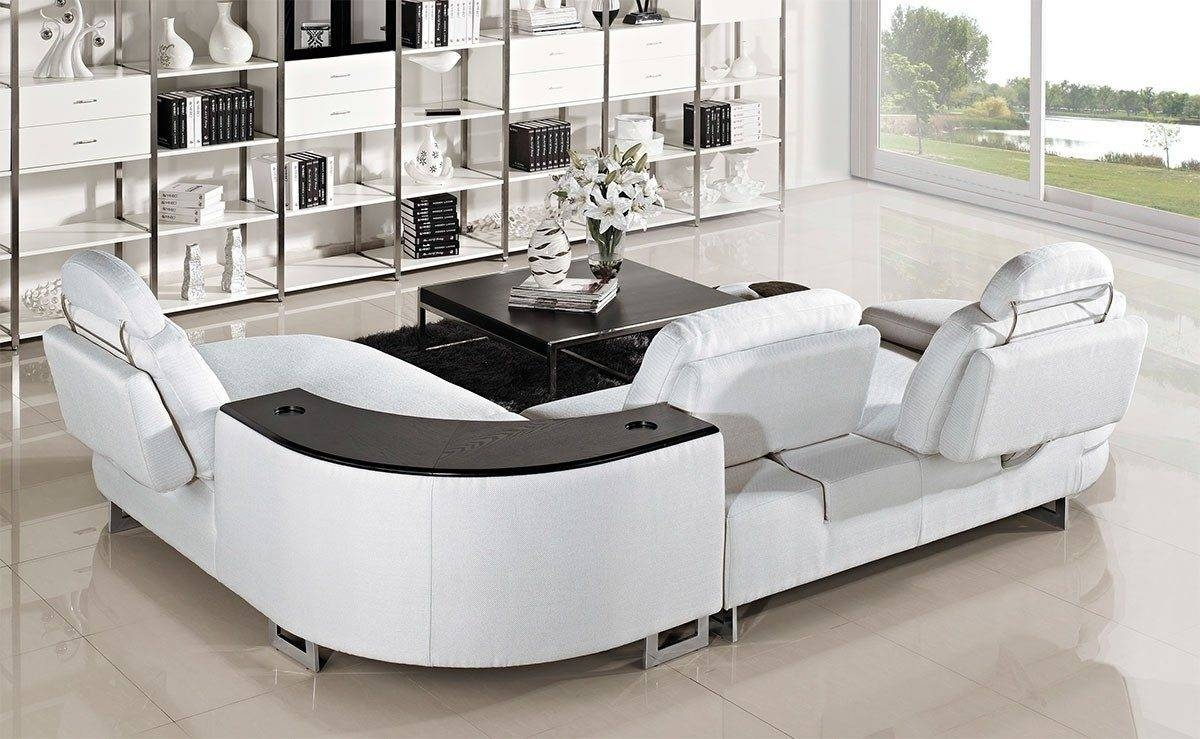 Furniture: Small Curved Sectional Sofa | Curved Couch | Curved with Semi Round Sectional Sofas (Image 6 of 15)