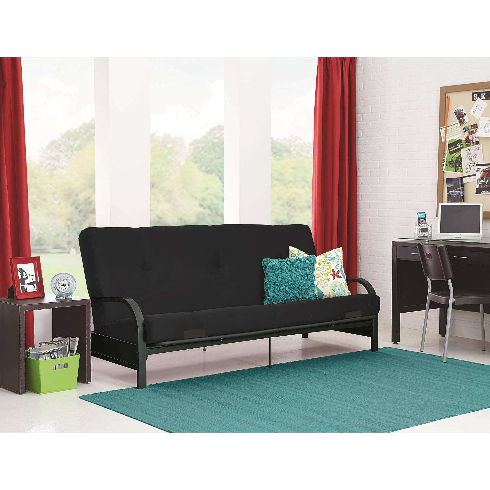 Futons – Walmart Within Futon Couch Beds (View 12 of 15)