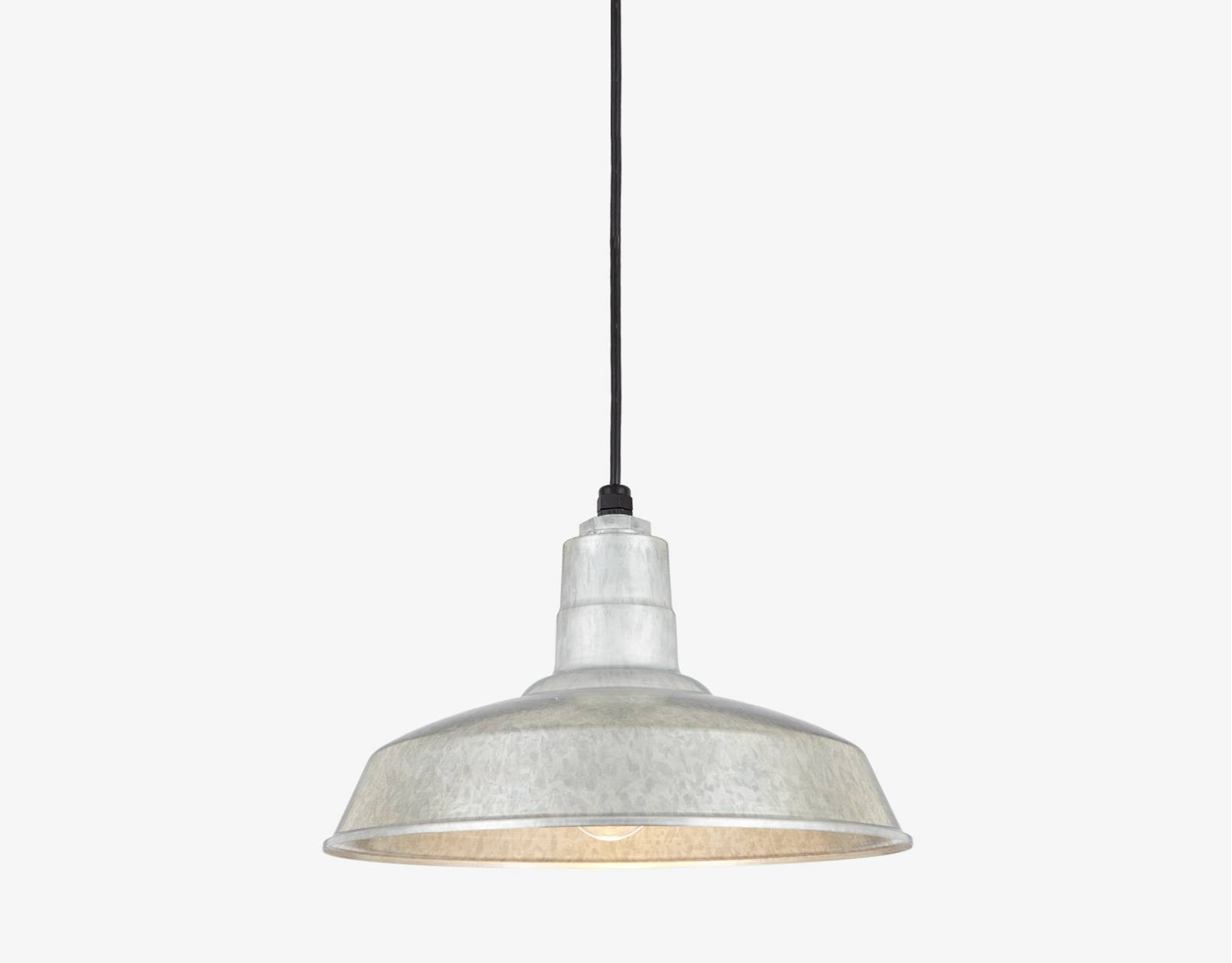 Galvanized Pendant Light (View 5 of 15)