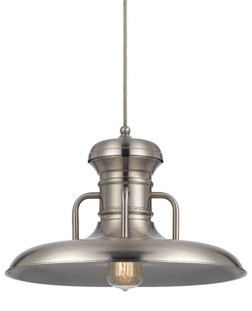 Galvanized Retro Warehouse Pendant Light 16"