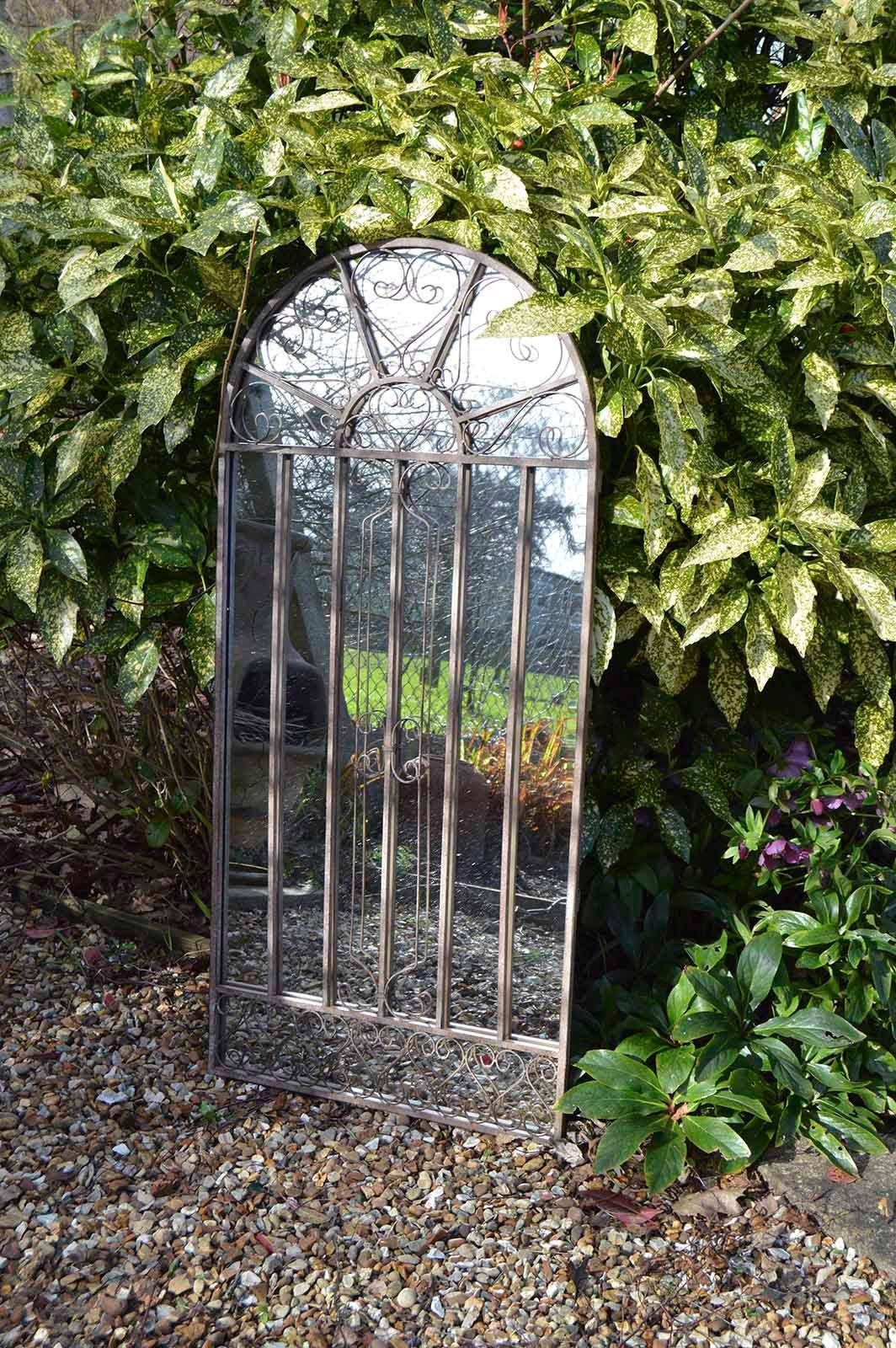 Garden Mirror 1300Mm X 600Mm | Framed Mirrors | Mirrors | Made2Measure inside Large Garden Mirrors (Image 8 of 15)