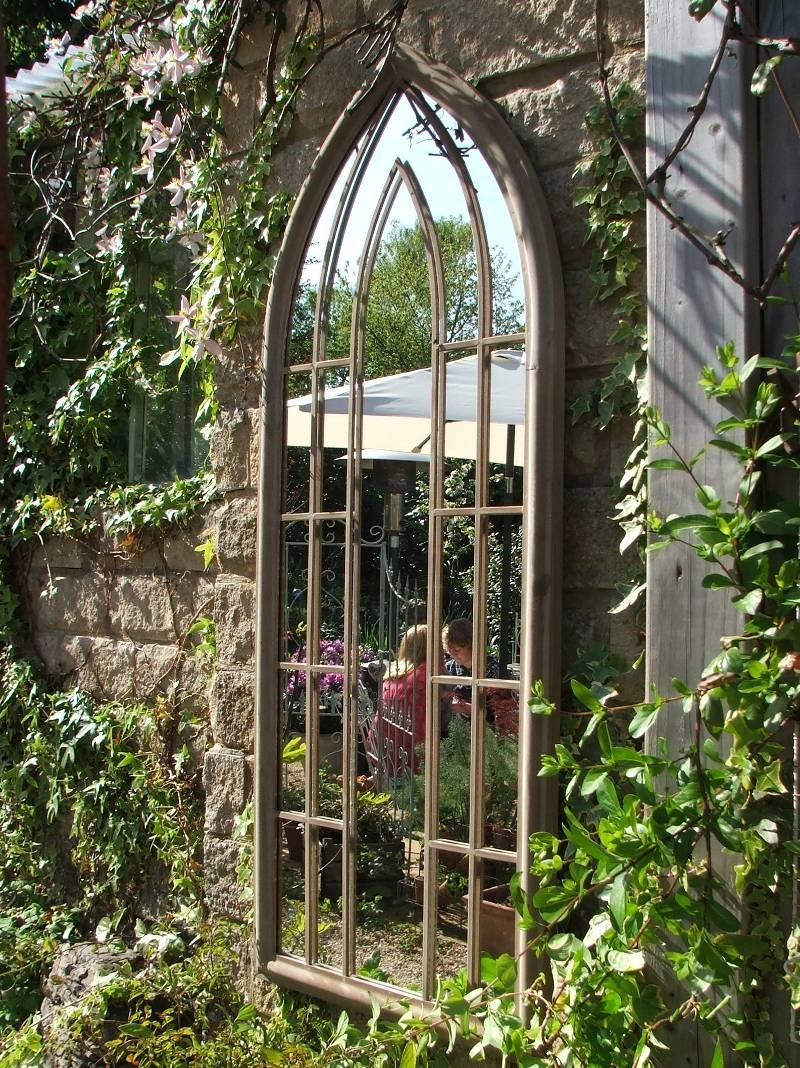 Garden Mirror in Large Garden Mirrors (Image 9 of 15)