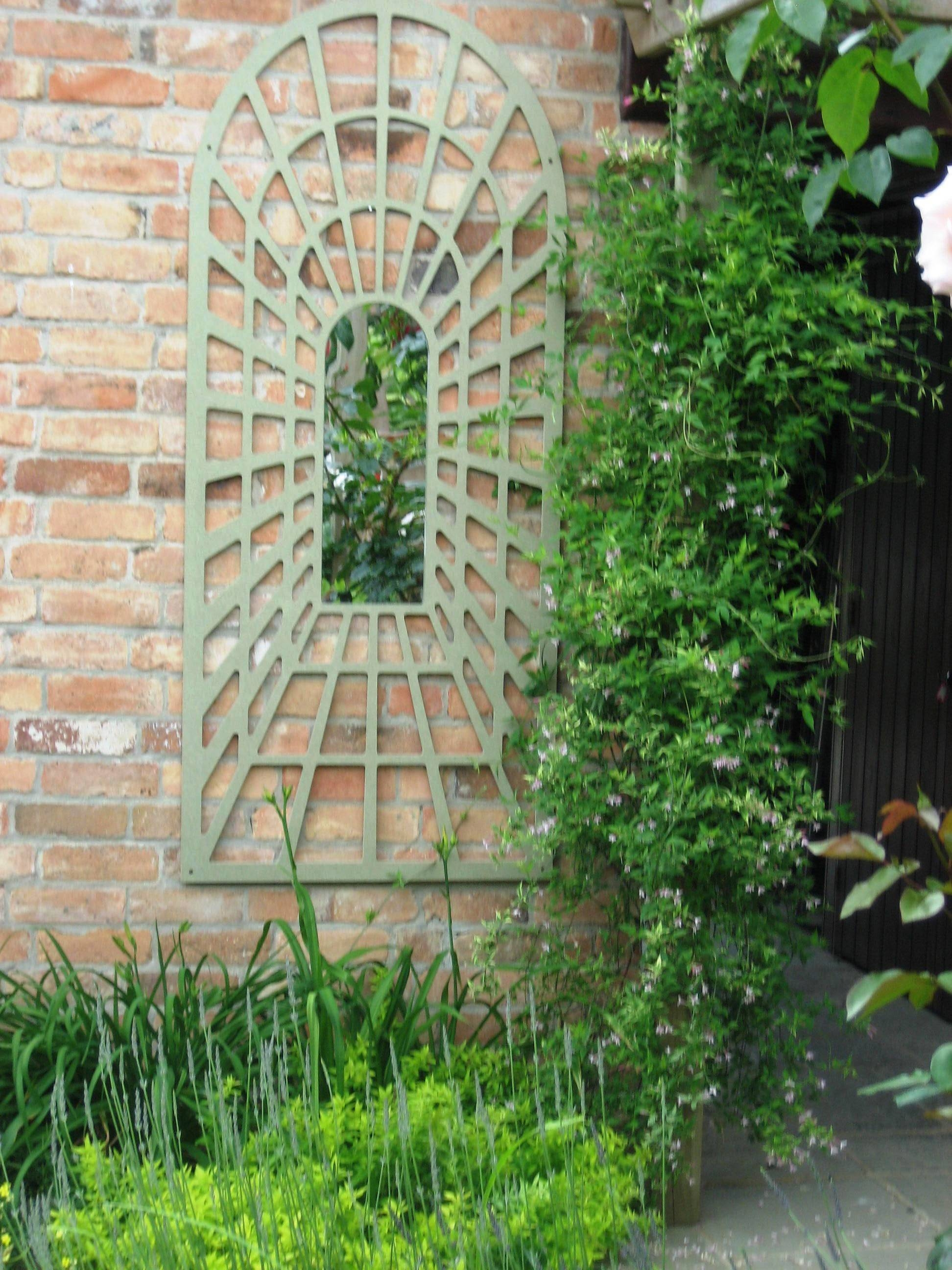 Garden Mirrors | Parallax Plastics intended for Large Garden Mirrors (Image 12 of 15)