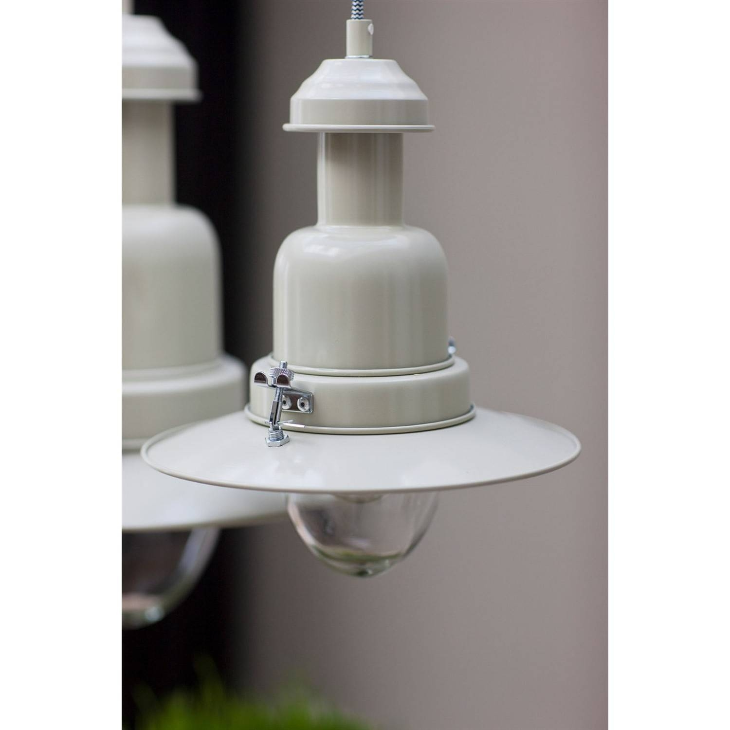 Garden Trading Pendant Fishing Light - Clay | Toys And Interiors intended for Pendant Fishing Lights (Image 5 of 15)