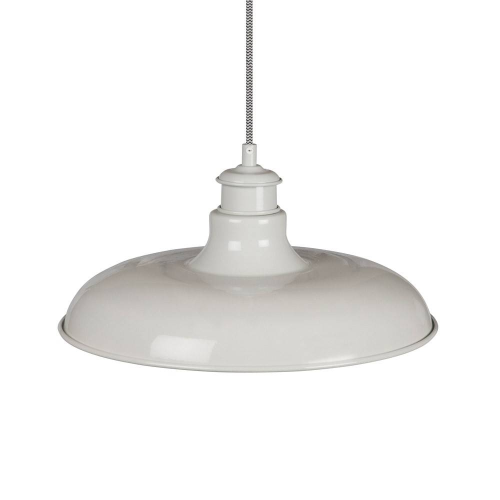 Garden Trading Toulon Pendant Light - Chalk | Houseology within Toulon Pendant Lights (Image 4 of 15)