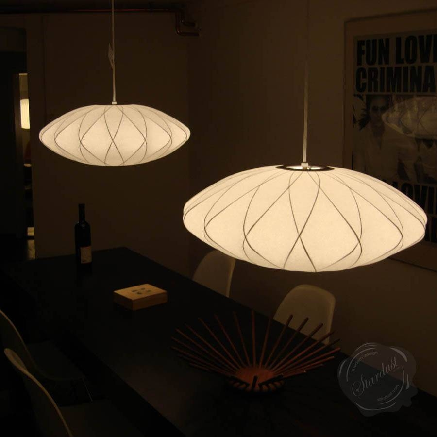 George Nelson Bubble Lamp Criss Cross Saucer Pendant Light Replica in George  Nelson Pendant Lights (