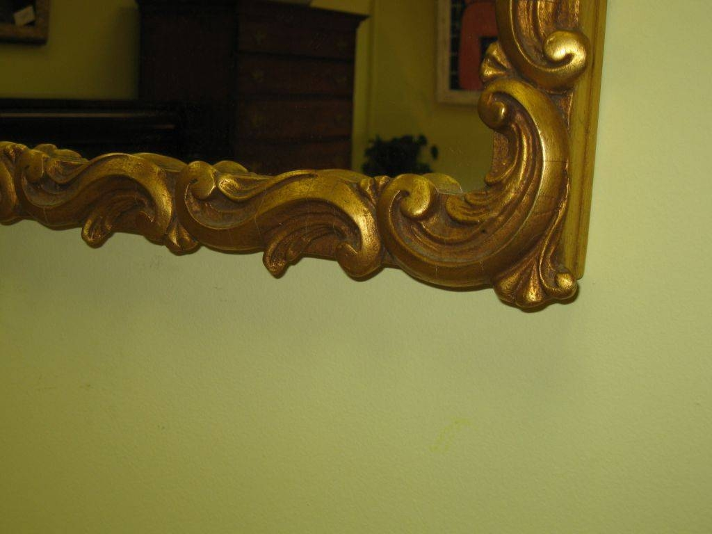 Gilt-Framed Mirror Sold for Large Gilt Framed Mirrors (Image 1 of 15)