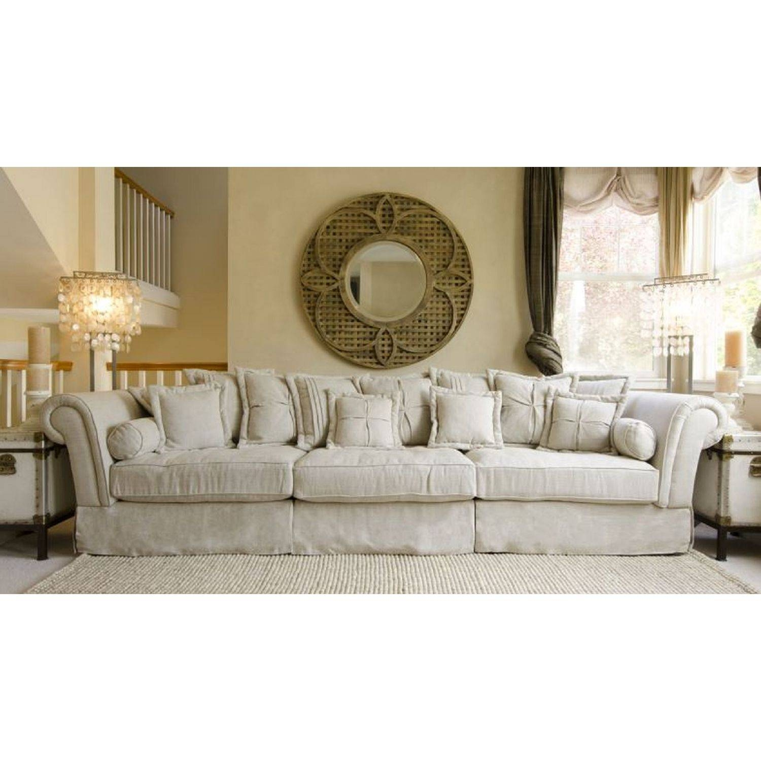 Glamorous Shabby Chic Sectional Sofa 67 For Cheap Sectional Sofas With Shabby Chic Sectional Couches (View 3 of 15)