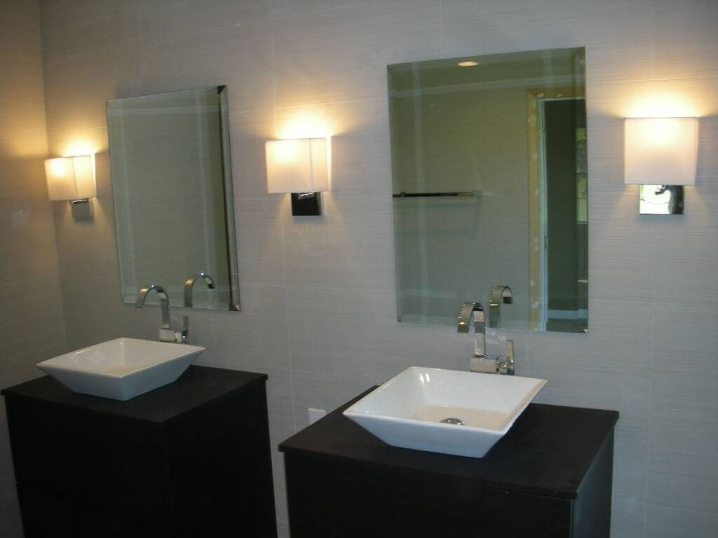 Glamorous Wall Sconces For Bathroom 2017 Decor – Wall Sconces Home in Wall Light Mirrors (Image 7 of 15)