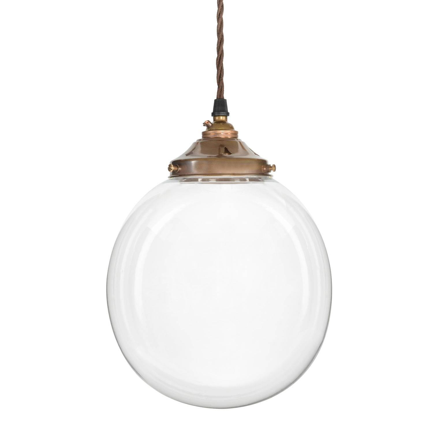Glass Ball Pendant Light   Baby Exit With Large Glass Ball Pendant Lights  (Image