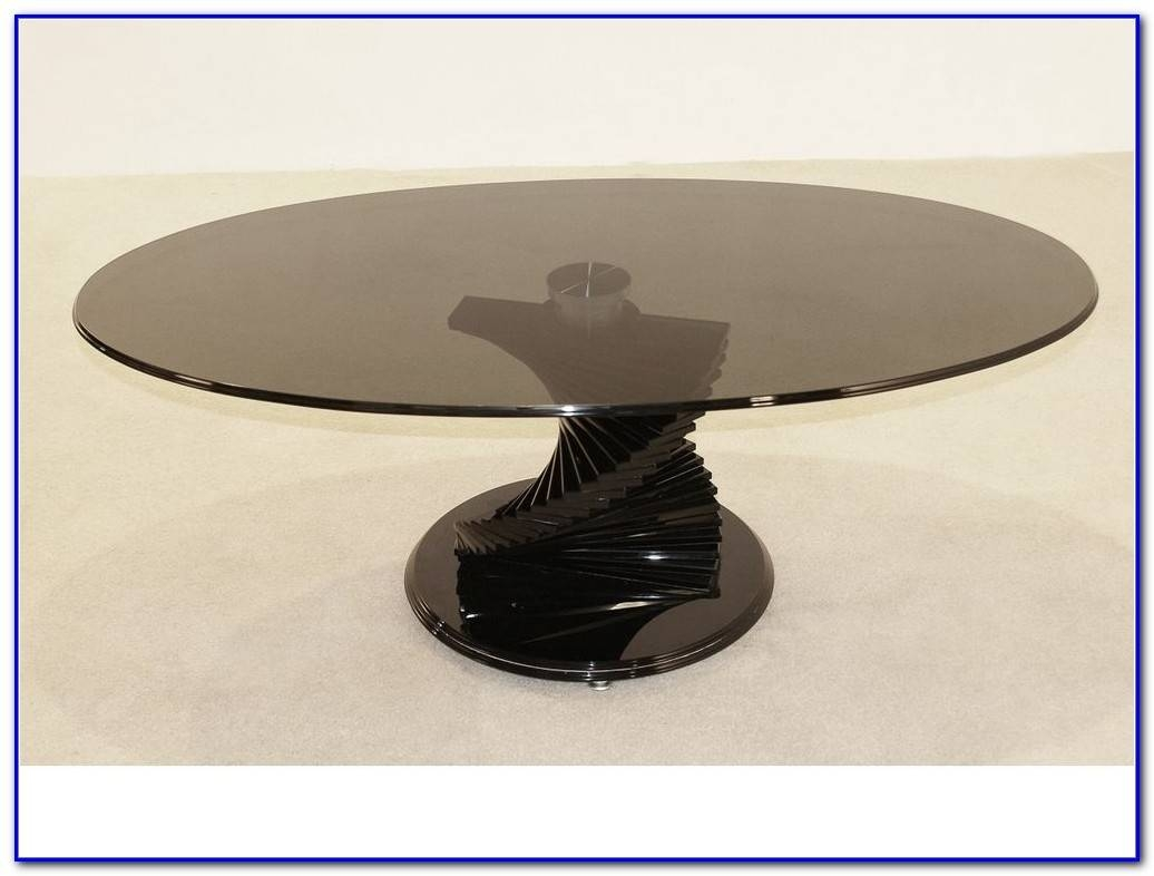 Glass Coffee Table With Spiral Base - Coffee Table : Home inside Spiral Glass Coffee Table (Image 10 of 15)
